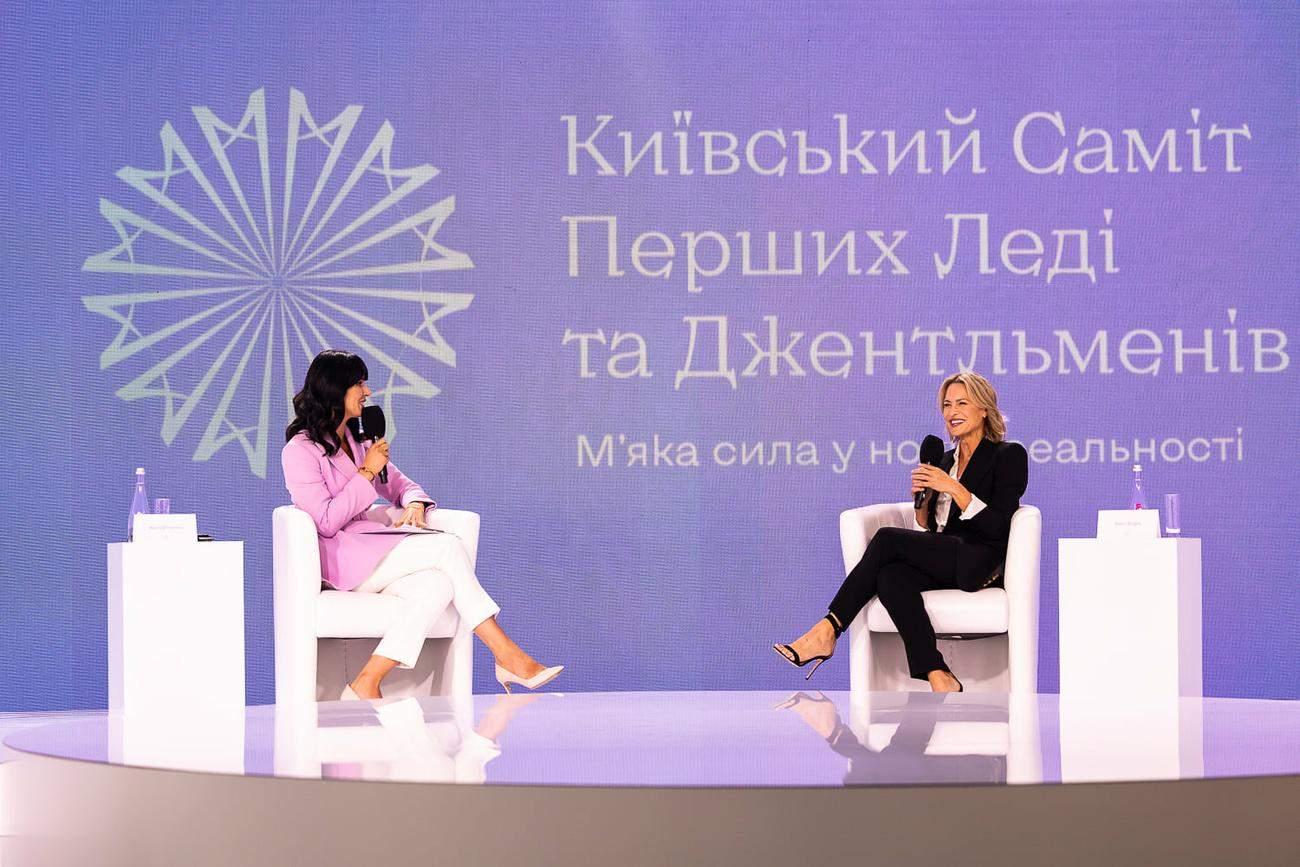 Маша Єфросиніна та Робін Райт / Фото з інстаграму Олени Зеленської