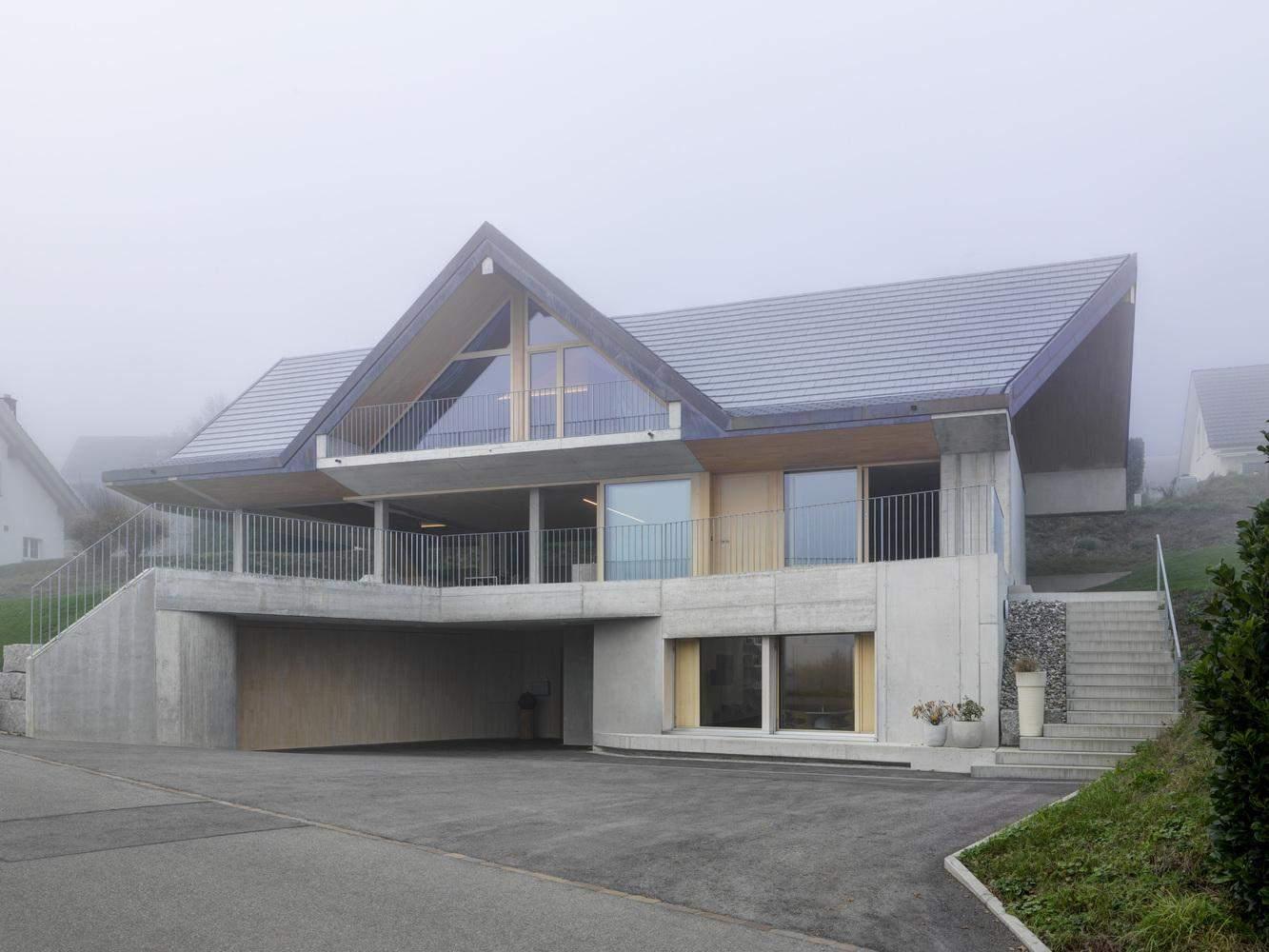 Традиційний сільський швейцарський будинок / Фото Archdaily