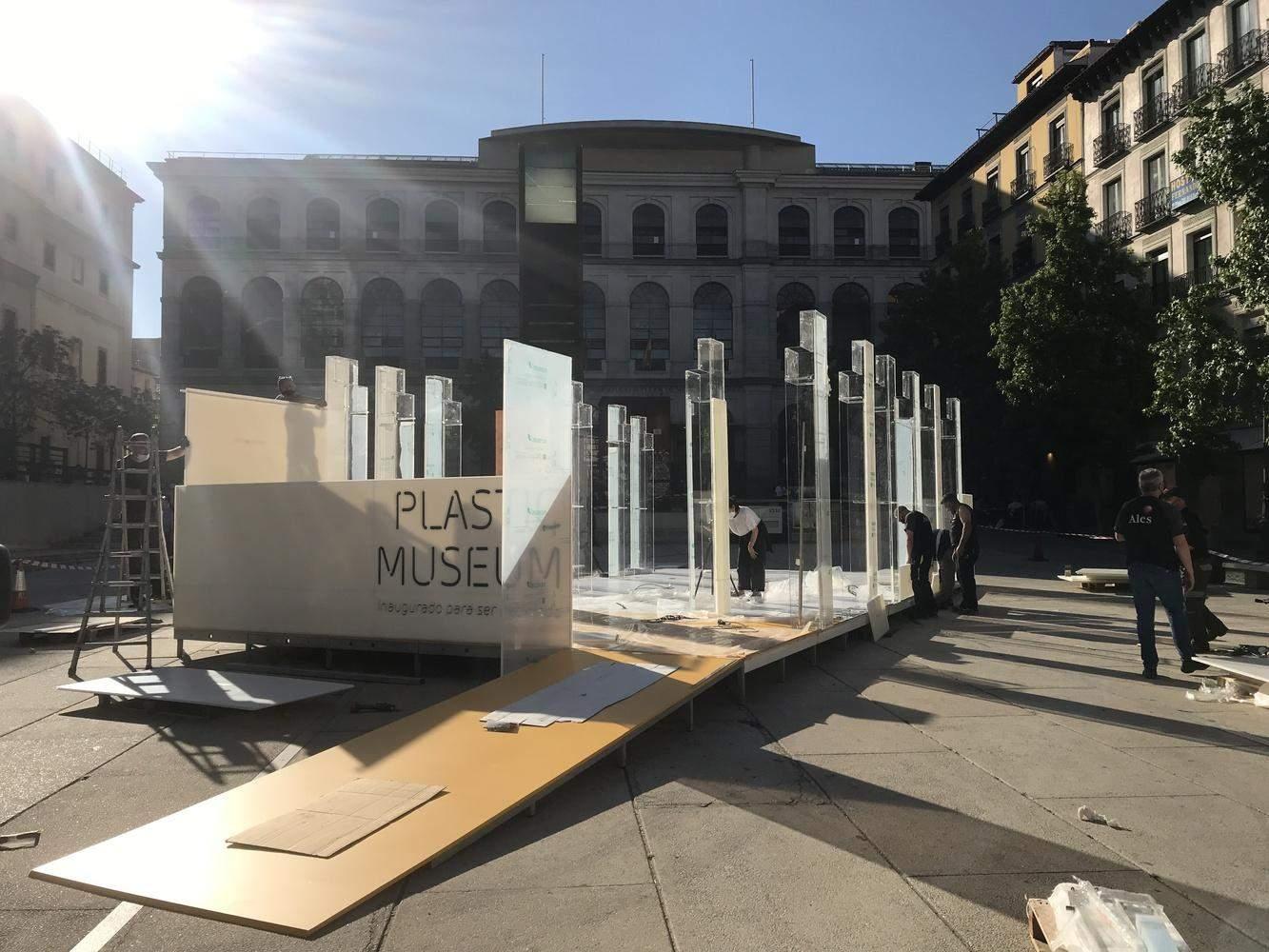 У Мадриді відкрили  музей пластику, який згодом відправили на переробку