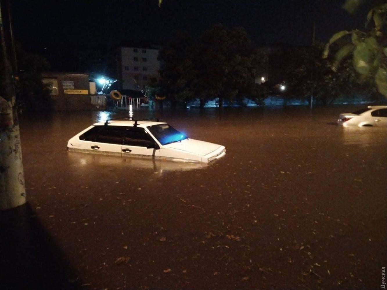 Злива в Одесі