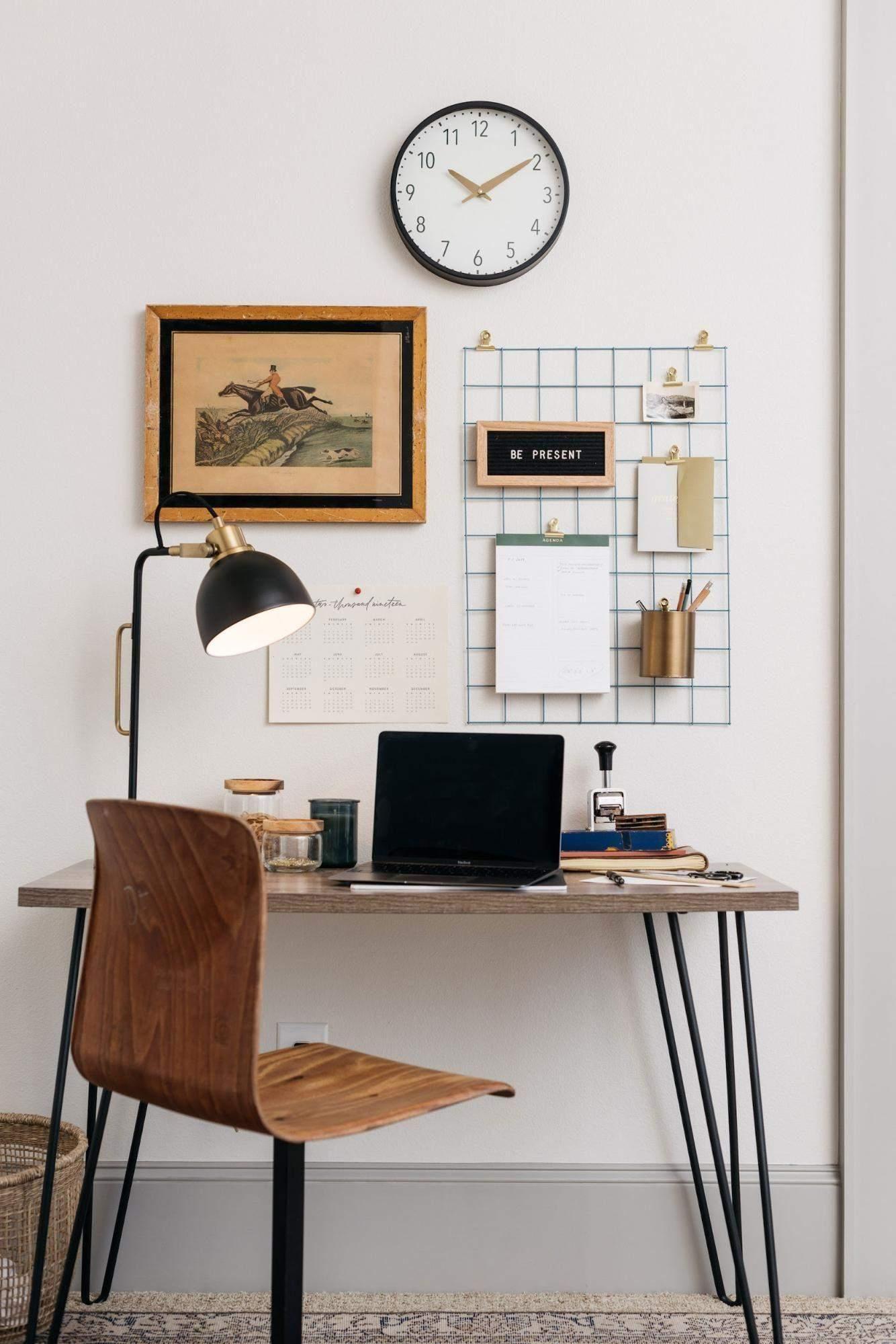 Домашній офіс в спальні: ідеї для натхнення
