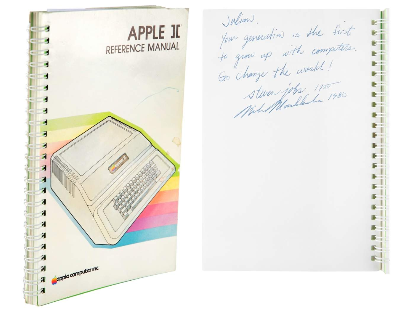 Інструкцію до Apple II продали на аукціоні