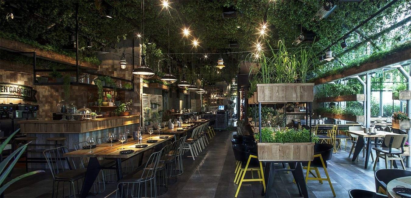 Зеленый ресторан открыли в Израиле