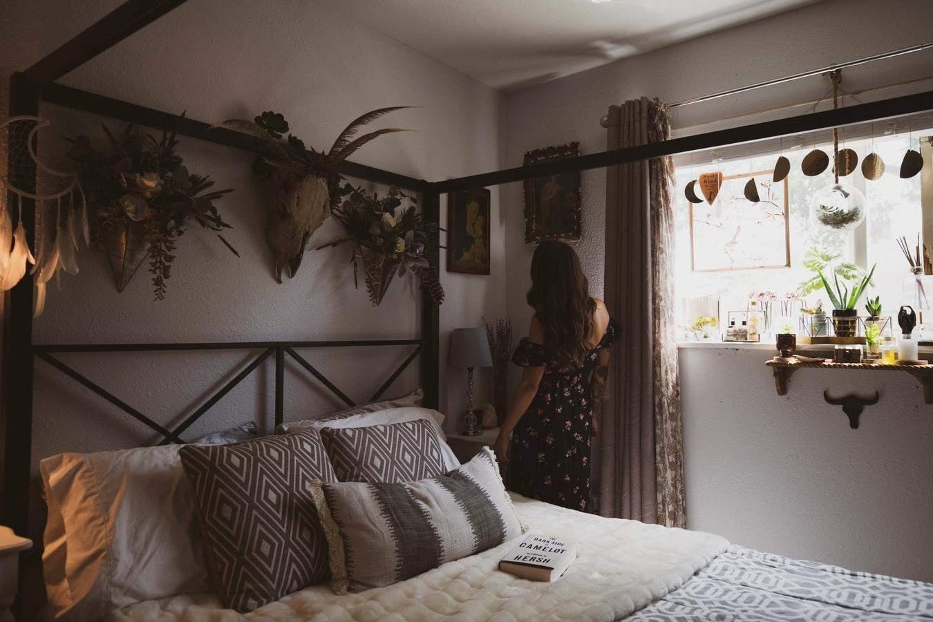 В спальне в стиле