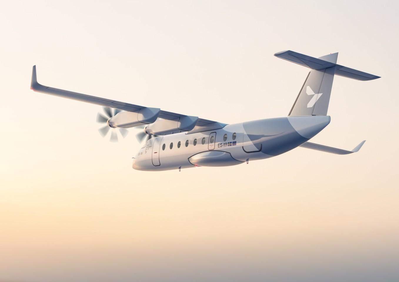 Електричний літак Heart Aerospace