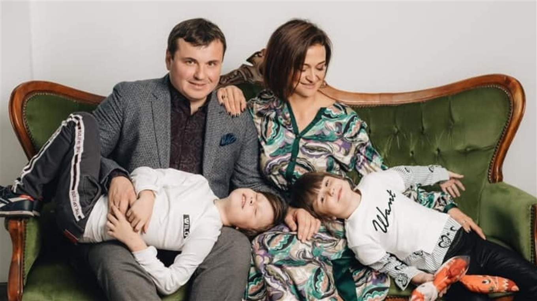 Юрій Гусєв сім'я фото