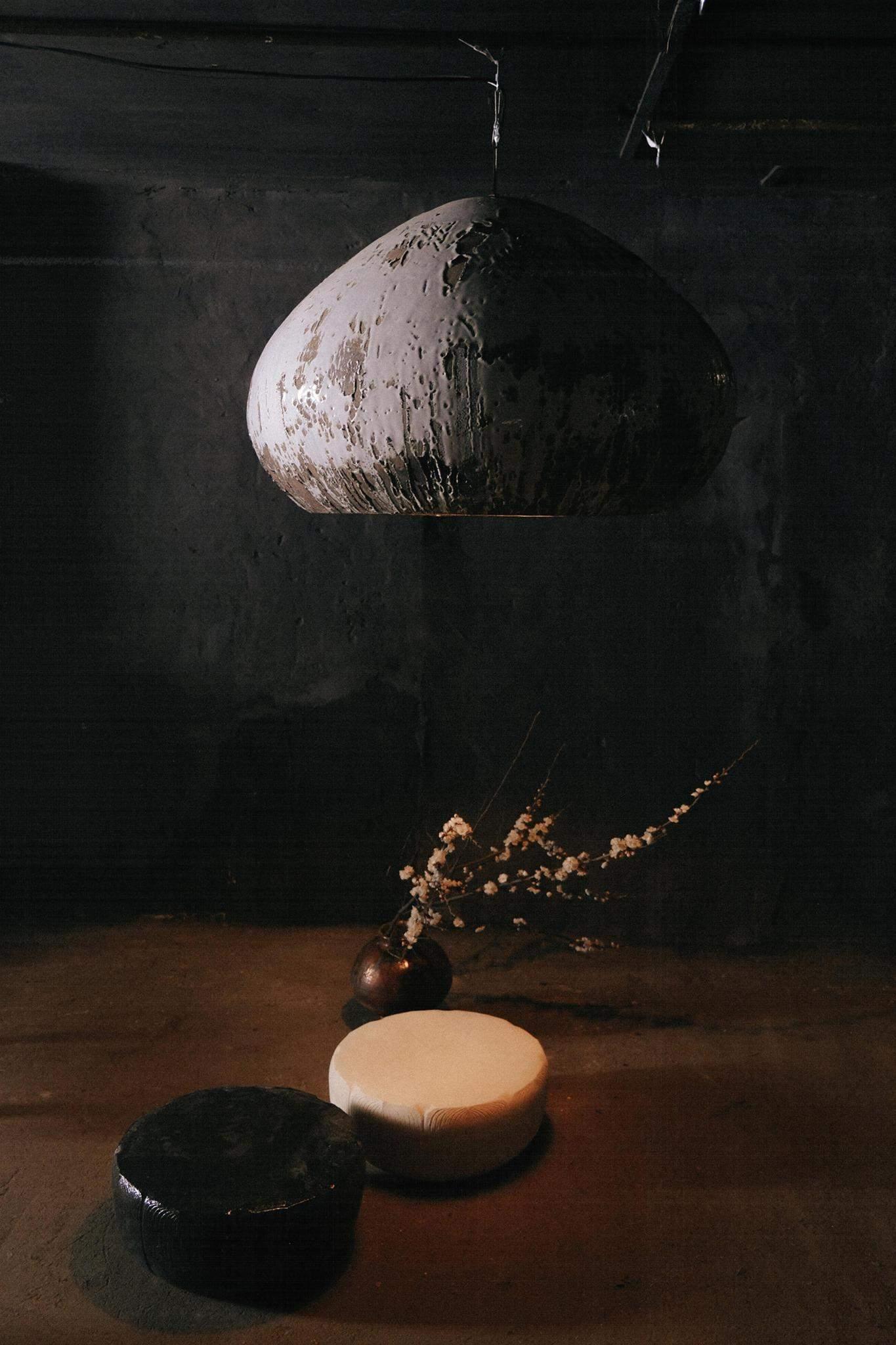 Керамічна лампа Квітка