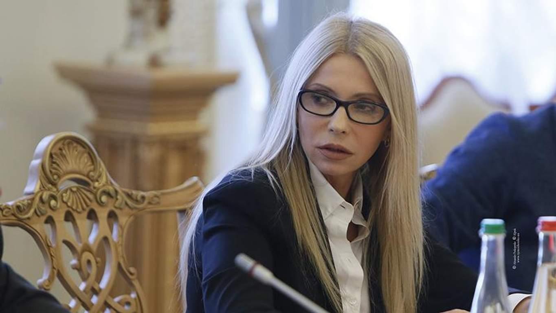 Тимошенко в занимается сексом