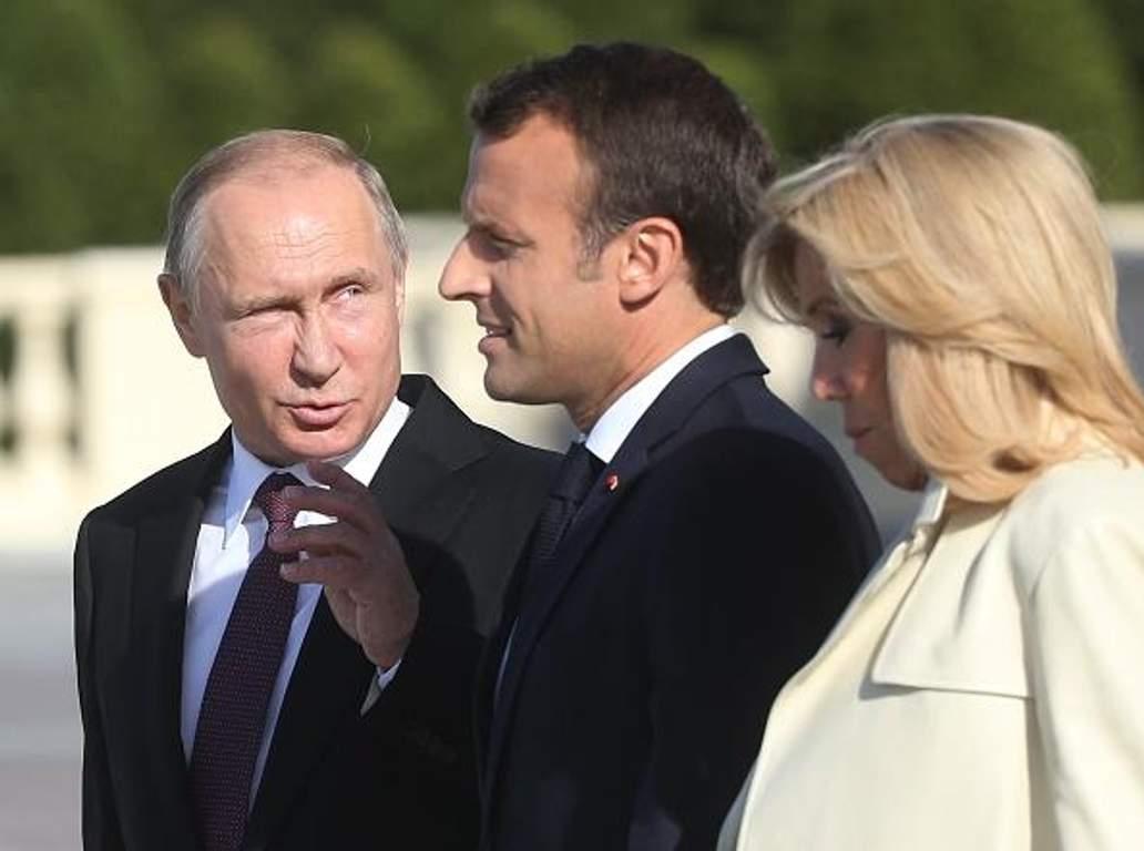 """Макрон предложил Путину """"найти решение"""" по Украине во время переговоров в Санкт-Петербурге - Цензор.НЕТ 9678"""