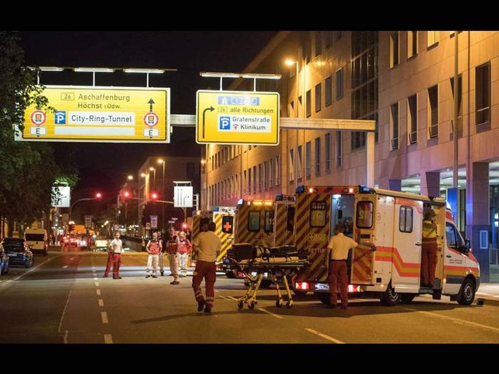 На фестивалі у Німеччині сталася масштабна бійка з поліцією  підмогу  викликали із сусідніх міст - 24 Канал 2e8e15a208e27