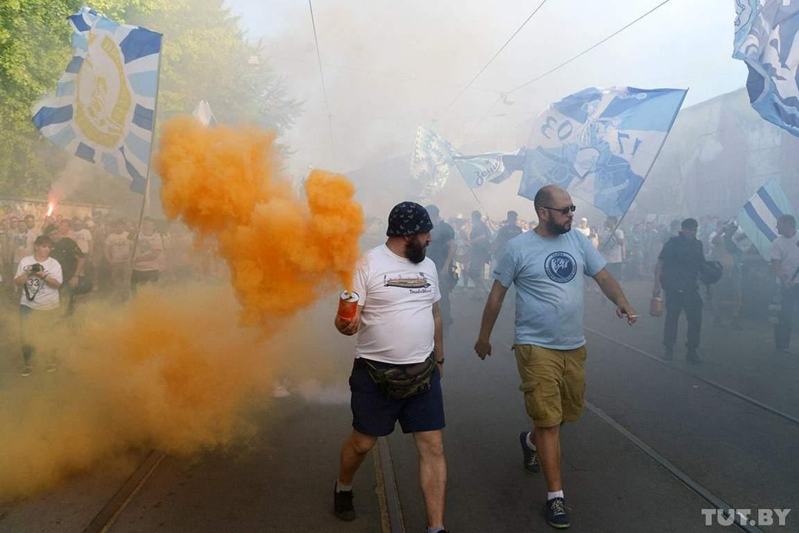 """Російський """"Зеніт"""" і його фанати зганьбилися в Лізі Європи (фото, відео)"""