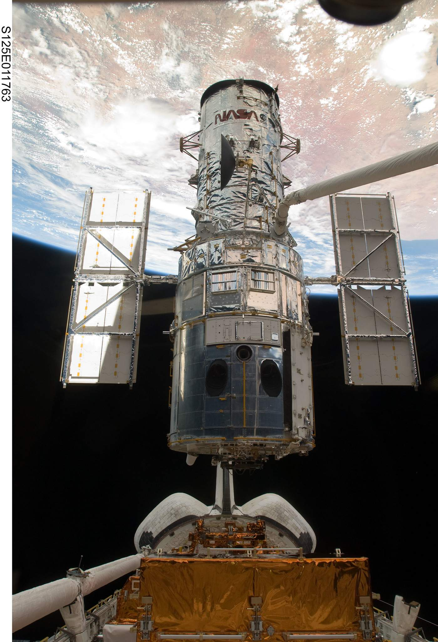 Hubble та Atlantis