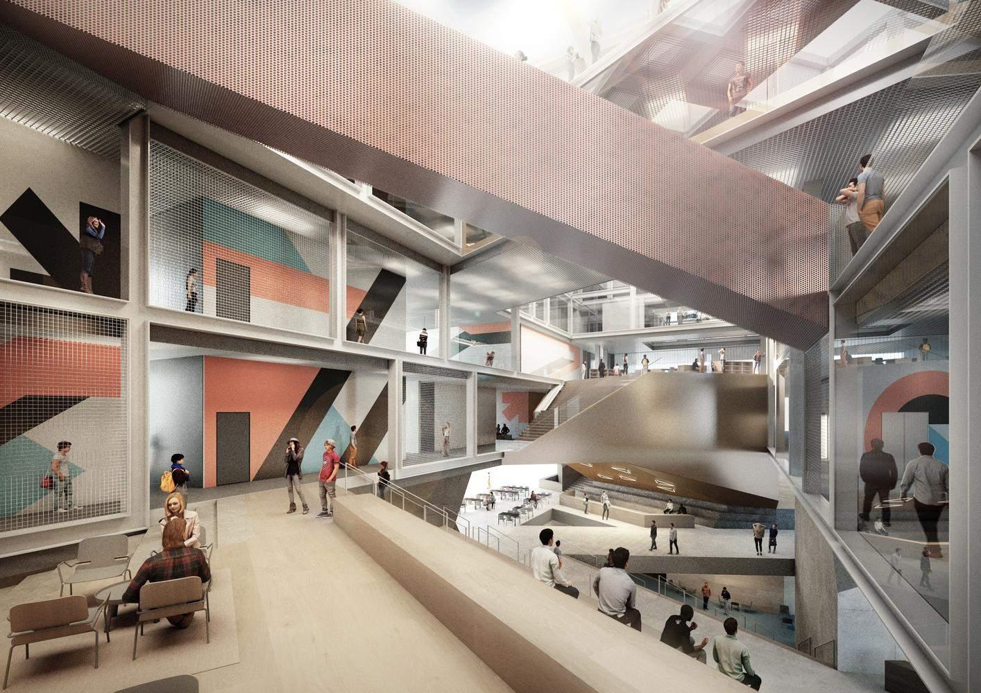 Університет абсолютно не схожий на стандартний заклад освіти / Фото Archdaily