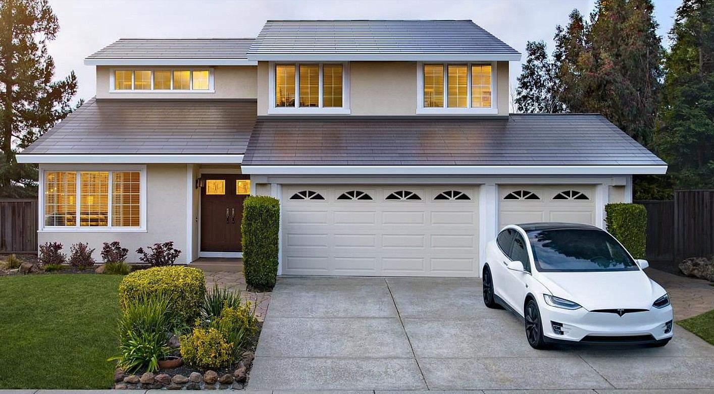 Проєкт Tesla Solar Roof