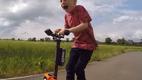 """Супер-папочка построил для своего 5-летнего сына """"реактивный"""" самокат (видео)"""