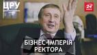 Яку бізнес-імперію заховав скандальний ректор Згуровський за кордоном