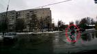 Видео: украинский пешеход-акробат прославился на весь мир