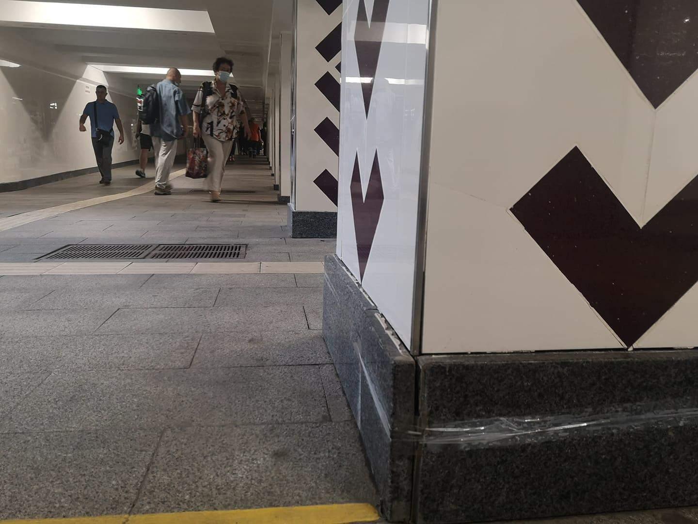 У київському метро перехід