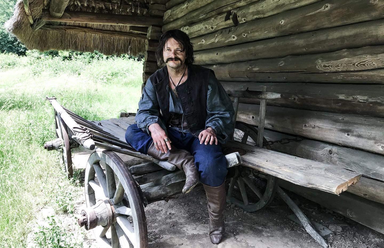 Роман Ясіновський у фільмі