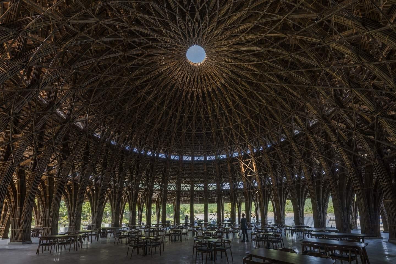 Неймовірний дах споруди / Фото New Atlas