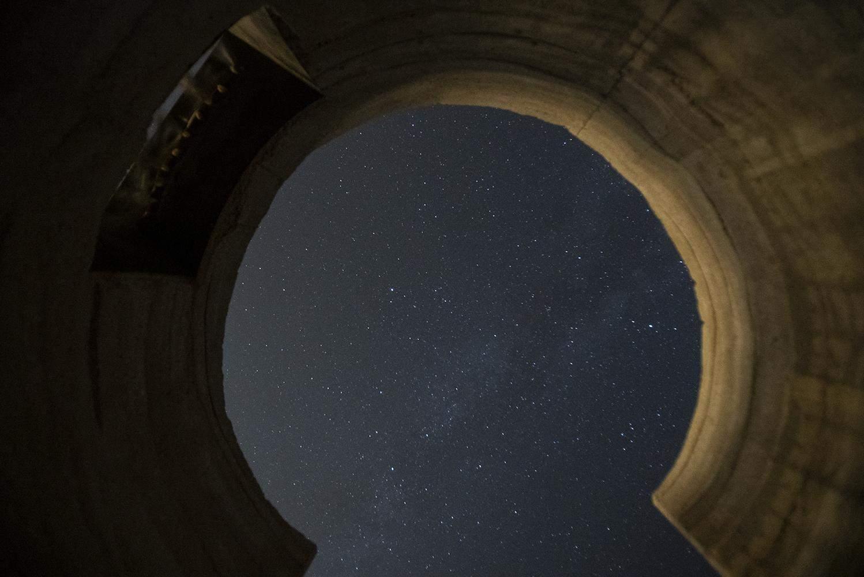 Вночі з обсерваторії особливий вигляд / Фото Archdaily