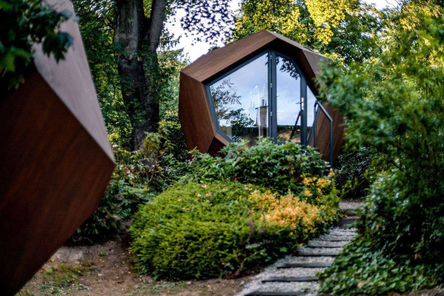 Геометрична форма міні-офісів / Фото Archdaily