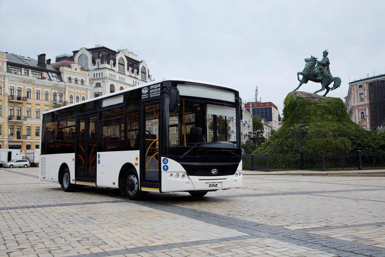 Автобус ЗАЗ А10 проходить сертифікацію Євро- 6 та експортуватиметься до Європи