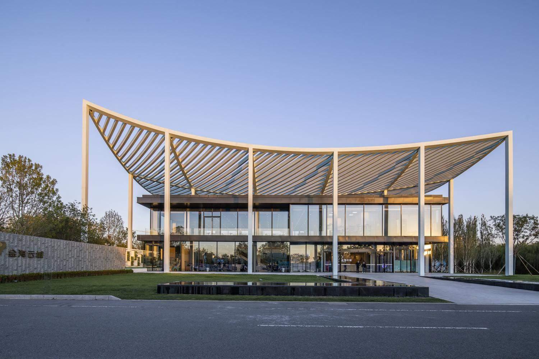 Будівля має традиційні азіатські деталі  / Фото Designboom