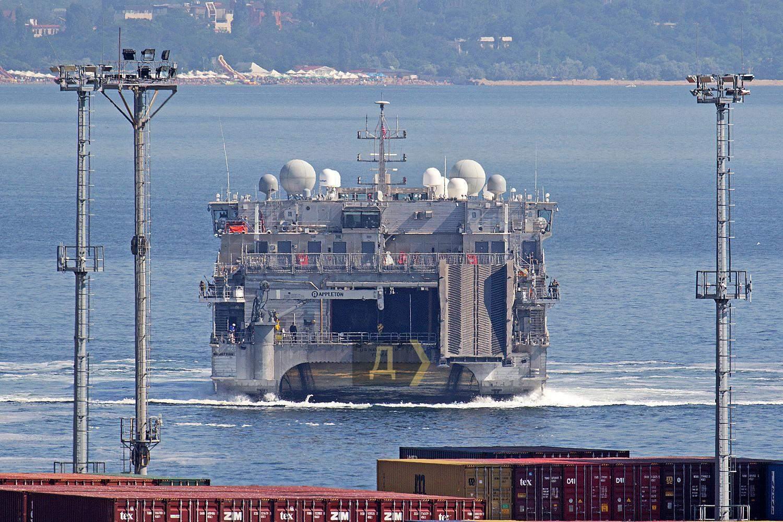 Корабель Yuma в порту Одеси