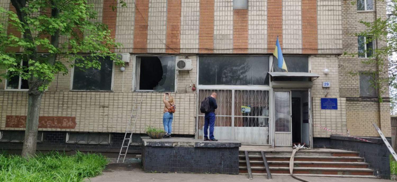 пожежа архів Одеса ДСНС Медики