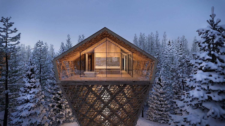Незвична форма будівлі чудово контрастує із місцевим ландшафтом  / Фото Visual Atelier8