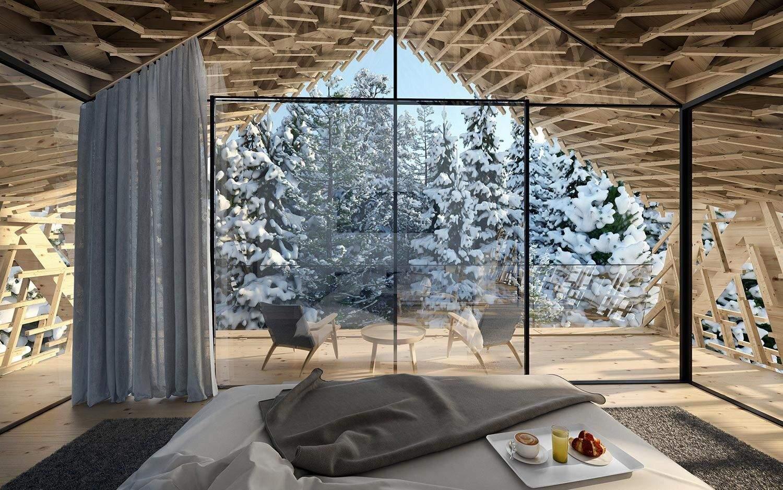 Пейзаж на зимову природу / Фото Visual Atelier8