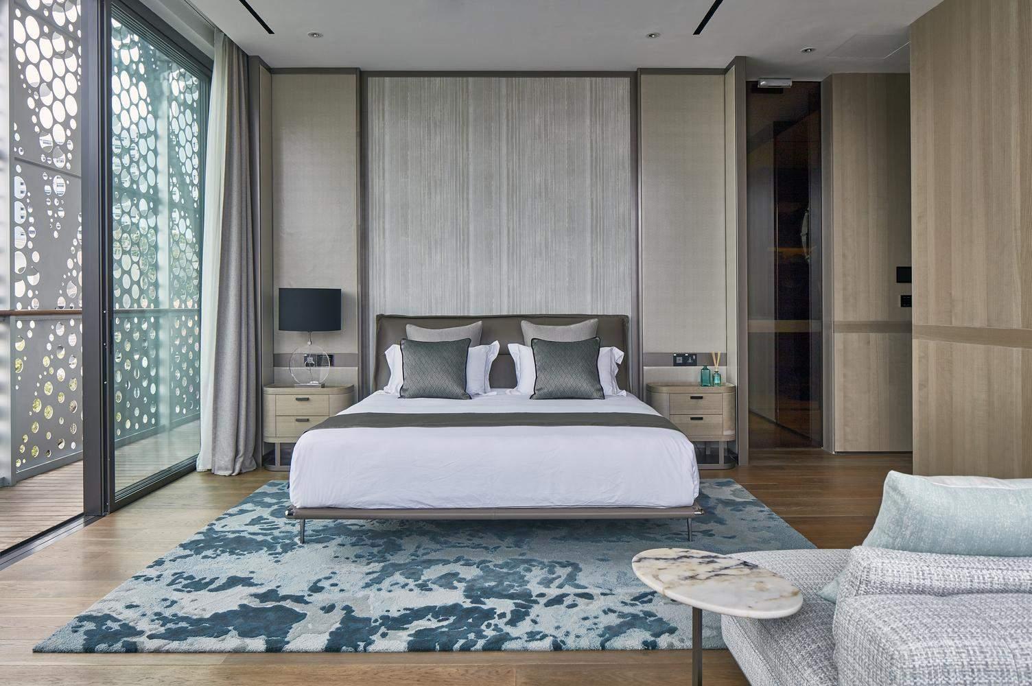 Спальня виглядає доволі мінімалістично / Фото Archdaily