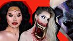 Страшний макіяж на Хелловін 2018: оригінальні ідеї у відео та фото