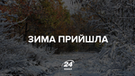 Первый снег выпал еще в трех областях Украины: появились фото