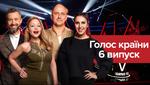 Голос країни 8 сезон 6 випуск: донька Хурсенка, екс-учасниця гурту Mirami та Камалія