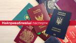"""Наскільки """"цінний"""" український паспорт: інфографіка"""
