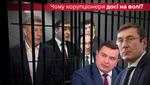 Список Луценко и НАБУ: фигурантов больше, приговоров – ни одного