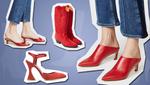 С чем носить красную обувь: модные варианты