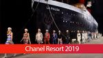 Роскошный корабль и много звезд: в Париже состоялся показ Chanel Resort 2019
