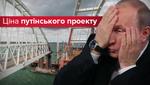 Шалено дорога авантюра: у скільки Росії обходиться Кримський міст