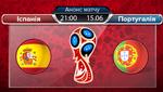 Іспанія – Португалія: букмекери назвали фаворита матчу Чемпіонату світу 2018