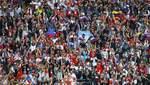 На відкритті ЧС-2018 у Росії розгорнули прапор України: з'явилось відео