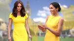 Меган Маркл против Кейт Миддлтон: когда больше идет желтое платье