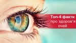 Топ-4 факти про здоров'я очей