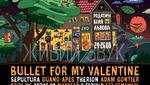Юбилейный фестиваль ZaxidFest: Bullet For My Valentine, Sepultura, Guano Apes и другие