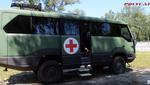 Позашляховий автобус Torsus рятує поранених на сході країни
