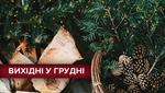 Вихідні у грудні 2018: які святкові дні очікують українців