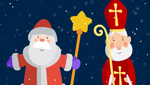 Святий Миколай vs Дід Мороз