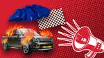Как кандидаты удивляют избирателей: от краденых шапок из Давоса до сожженного Range Rover